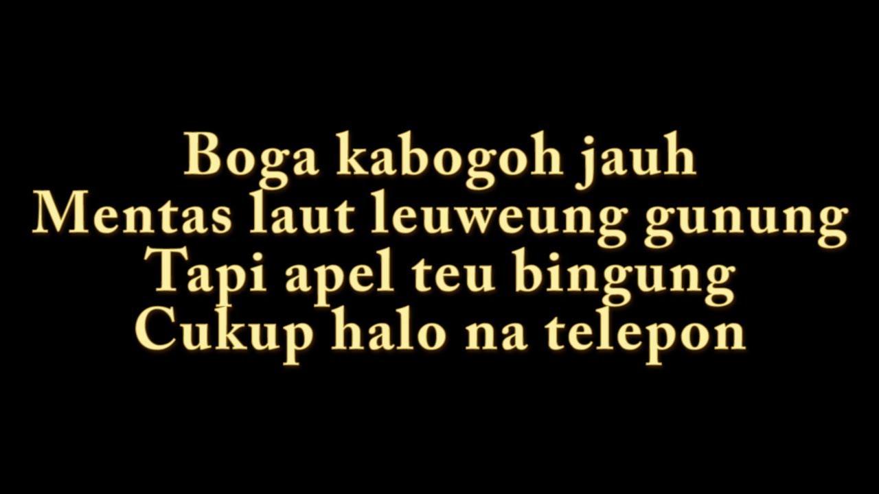 Kunci Gitar Lagu Sunda Darso Kabogoh Jauh
